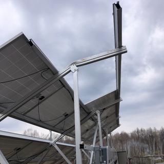 アルミ架台の修理作業、ソーラーパネル取り付け作業のお願い