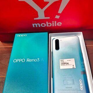 【ネット決済・配送可】 OPPO オッポ Reno3 A 白  ...