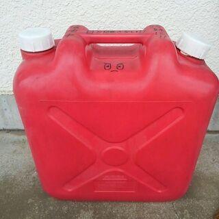 値下げ◆灯油ケース 20Lポリタンク 赤色