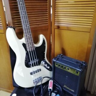 ベースギター・アンプ・チューニングセット! 初心者向け 中古