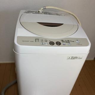 シャップ 4.5kg 洗濯機