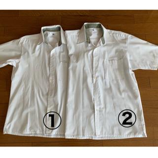 【値下げ】明誠学院高等学校 男子 半袖カッターシャツ2枚組