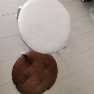 ロータイプ丸椅子カバー付