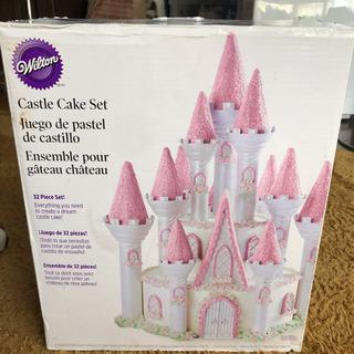 ウィルトン  ケーキのお城