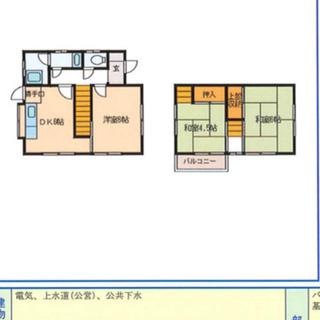ペットと住める 生活便利な津市寿町 一戸建3DK¥47000