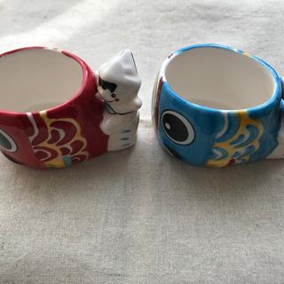 【ネット決済】鯉のぼりのゼリーカップ2個セット