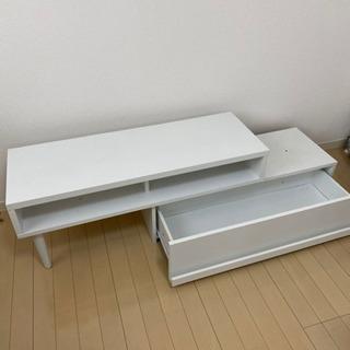 【ネット決済】ホワイト テレビボード