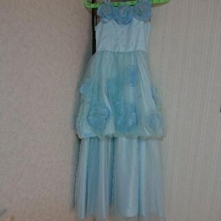 女の子  ロングドレス