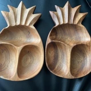 パイナップルの形のお皿