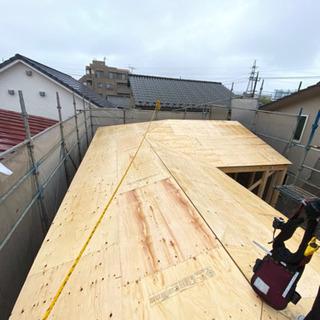 正社員募集中。大工、鳶職 木造建て方現場スタッフ