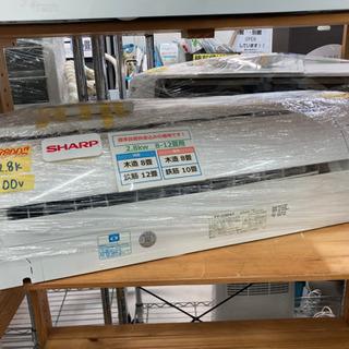 SHARP エアコン 2.8k 100V 2019年製 取付・配...