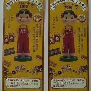 ◆不二家の抽選プレゼント復刻版レトロペコちゃん人形(201…