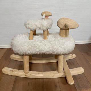 プーヤ プー (puu ja puu)ロッキングチェア 羊…