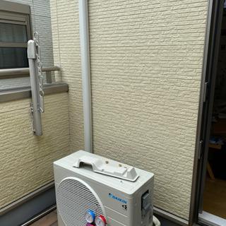 エアコン取り付け 電気 TV配線