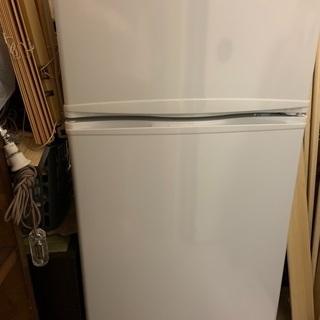 冷蔵庫 冷凍冷蔵庫 直冷式 2ドア 102L 右開き BTMF2...