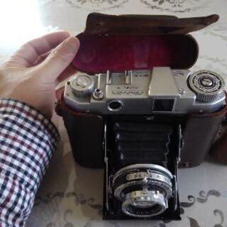 🌕🔴🔘超目立つ🔴🌕🔘ミズホ・シックス♥️蛇腹フイルムカメラ