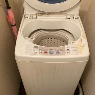 ジャンク扱い洗濯機