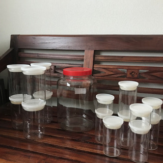無印良品  ガラス保存容器セット