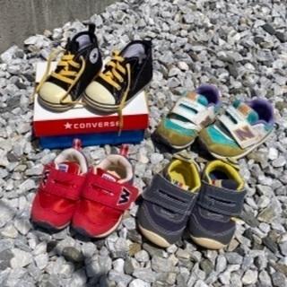 靴、サンダル、長靴12〜14 全12足