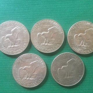 旧硬貨 アメリカドル硬貨