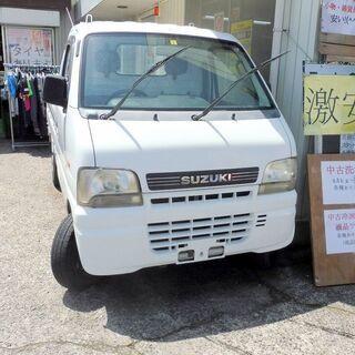 スズキ キャリートラック 4WD 5MT エアコン・パワステ付き...