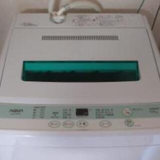 まだまだ使える洗濯機と洗濯カゴ