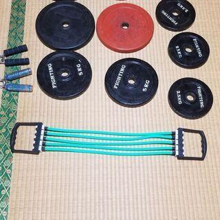 ダンベルプレート10枚 トレーニング器具