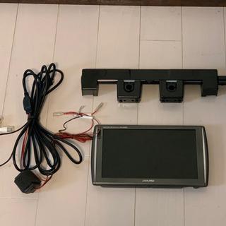 アルパイン 車載モニター/LED液晶/9インチ