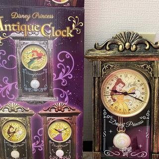 ディズニー 美女と野獣 ベル 時計