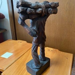 木彫りオブジェ 置物 - 仙台市