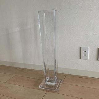 大型 花瓶 高さ60cm ガラス フラワーベース 枝もの 花器 ...