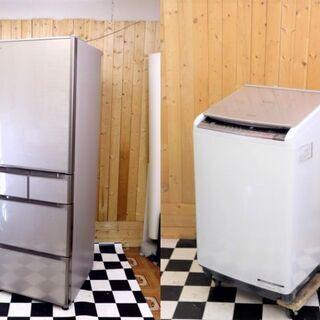 【ネット決済】★冷蔵庫・洗濯機セット販売2★ 冷蔵庫/全自動洗濯...