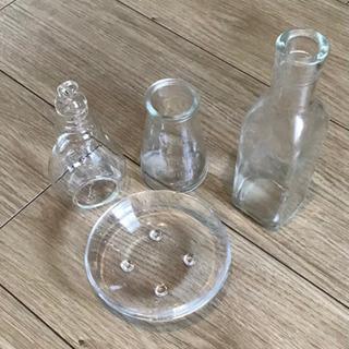 【中古】ガラス雑貨セット 0円の画像