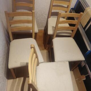 IKEA 椅子5脚 LERHAMN