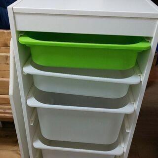 【ネット決済】IKEAトロファスト 収納ケース
