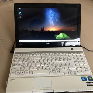 【値下げ】ノートパソコン NEC Core i7 ほぼ新品SSD...