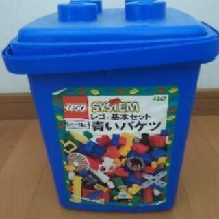 レゴ ブロック 基本セット青いバケツ +別のセット混入