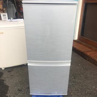 ◆動作品◆SHARP 2ドア 冷蔵庫 2016年製 SJ-…