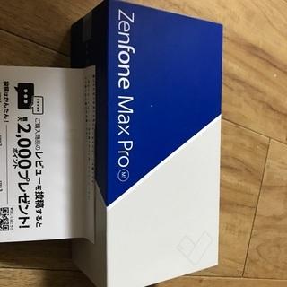 新品 Asus zenfonemax ゼンフォンマックス SIMフリー