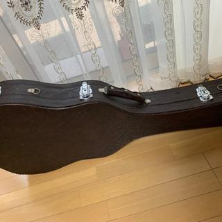 アコースティックギターとギターケース セット