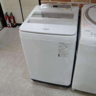 パナソニック8kg洗濯機 NA-FA80H6 2018年式…