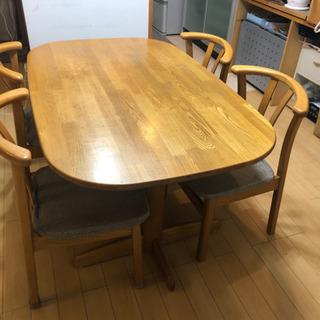 木製 ダイニングテーブル チェア セット