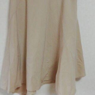 アシメスカート アイボリー W61