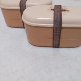 【サマーバーゲン】弁当箱2個セット【新品・未使用品】の画像