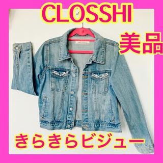 【美品】しまむら  CLOSSHI デニム ジャケット ジージャ...