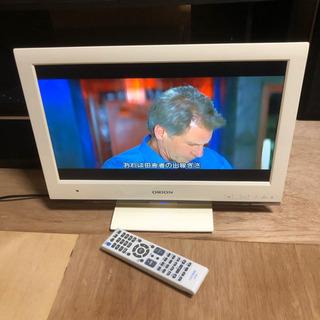 お取引中 DVD内蔵 液晶テレビ オリオン 19型