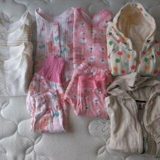 ★子供服 8点★ 女の子 秋冬パジャマ・下着セット サイズ95〜100