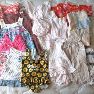 ★子供服 13点★ 女の子 夏秋物(水着含) サイズ80〜90