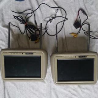 【値下】9.2インチ TFT ヘッドレスト モニター 汎用 現状...