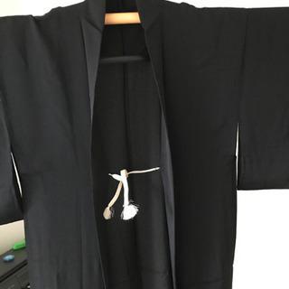 黒色 涼しい羽織